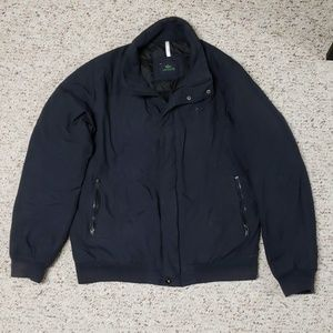 LACOSTE Black Women's Bomber Style Jacket Size 54